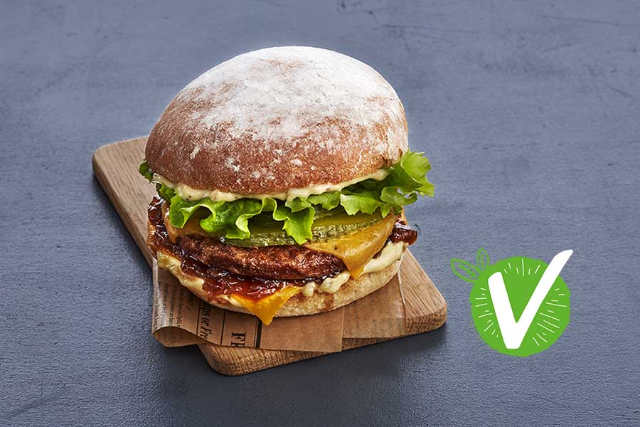 Le Burger Végé