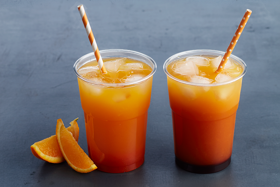 Jus d'oranges frais pressés